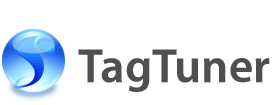 TagTuner music organizer and mass tag editor logo.